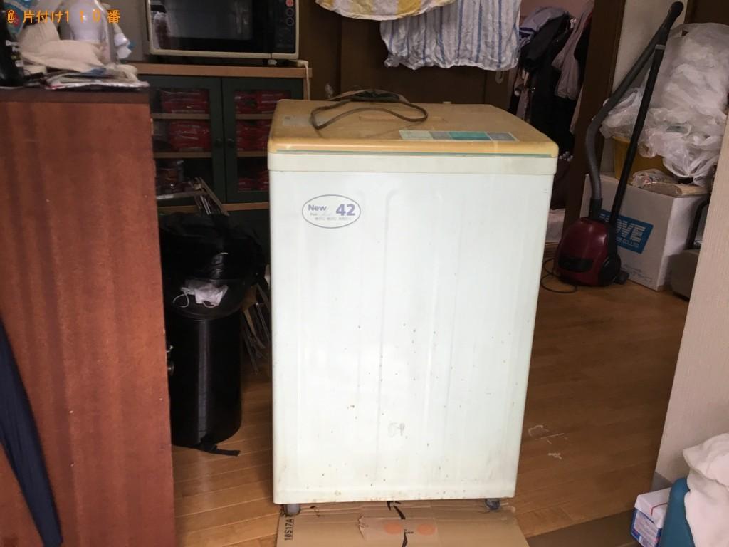 【佐用町】洗濯機の回収・処分ご依頼 お客様の声