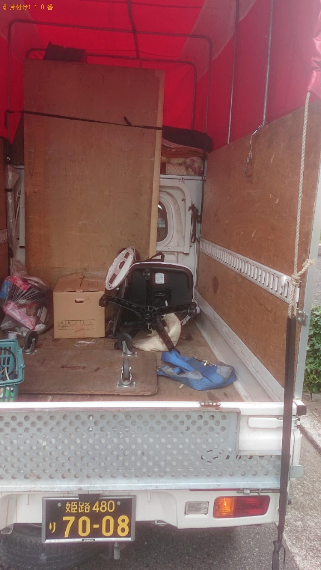 【神戸市兵庫区】収納付きシングルベッドの回収・処分ご依頼