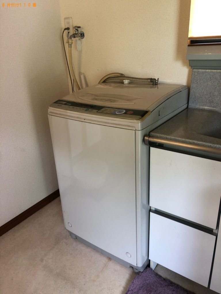 【たつの市新宮町】冷蔵庫、洗濯機、メタルラック等の回収・処分 お客様の声
