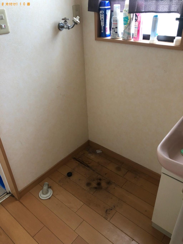 【神戸市西区】洗濯機の回収・処分ご依頼 お客様の声