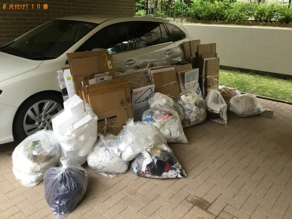 【西宮市南郷町】一般ごみ、ダンボール、衣類の回収・処分ご依頼