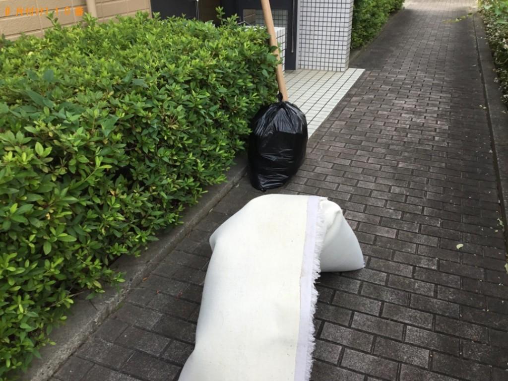 【西宮市高木西町】カーペット、家庭ごみの回収・処分ご依頼