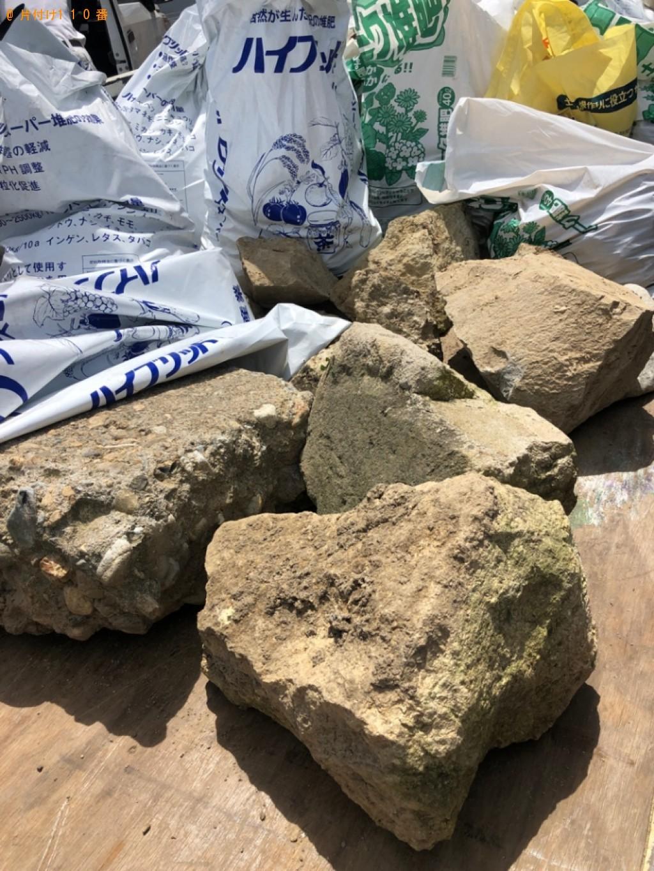 【加古川市上荘町】石、土嚢等の回収・処分ご依頼 お客様の声
