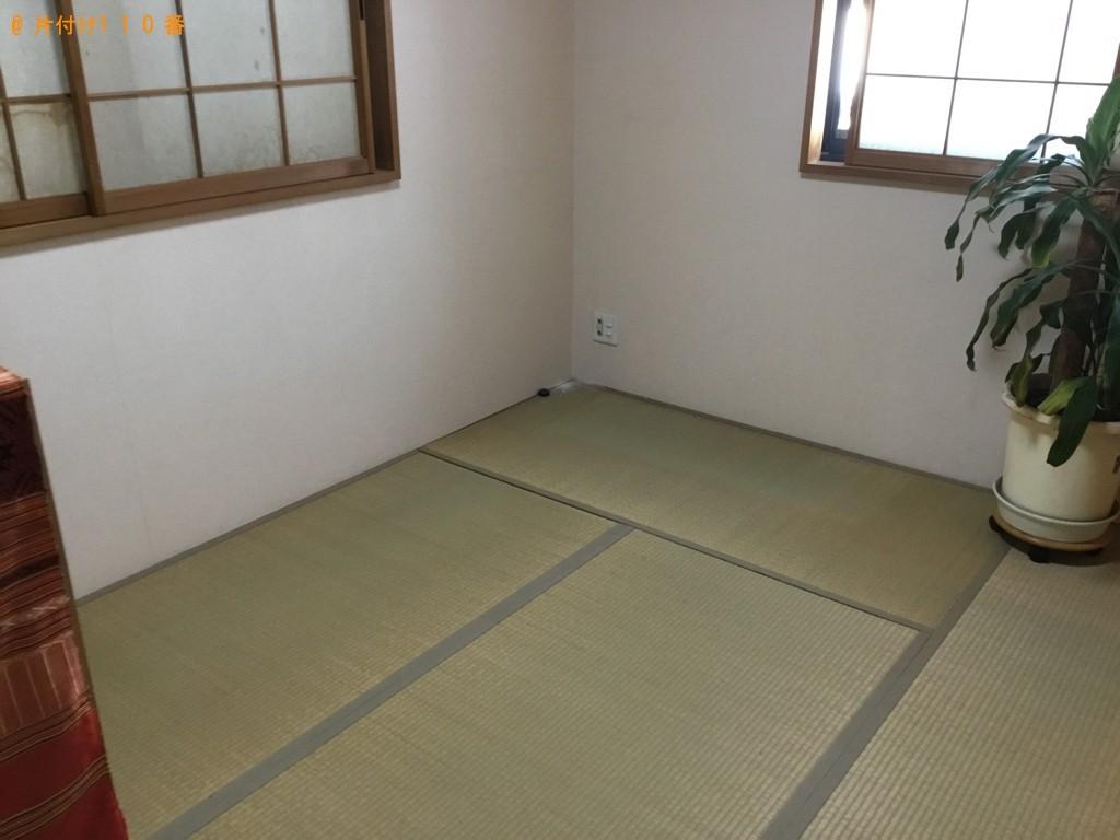 【伊丹市】タンス、ガラステーブル、鏡台、椅子等の回収・処分ご依頼 お客様の声
