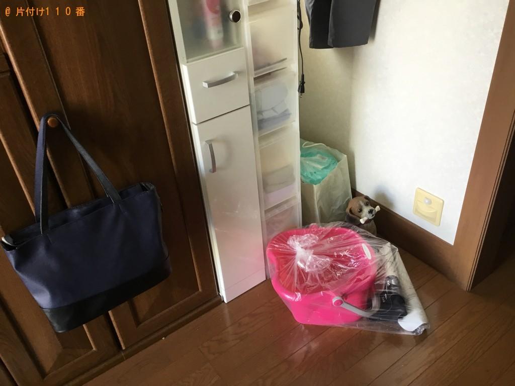 【伊丹市】タンス、ガラステーブル、鏡台、椅子等の回収・処分ご依頼