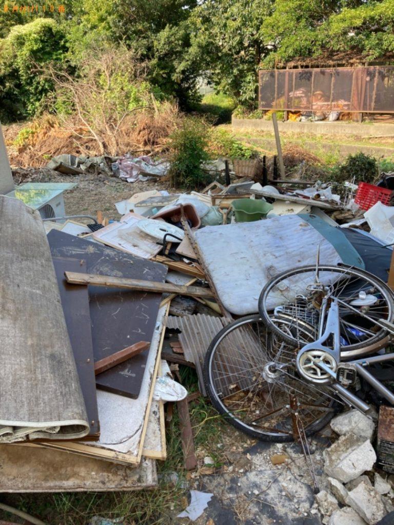 【上郡町】自転車、木材等の回収・処分ご依頼 お客様の声