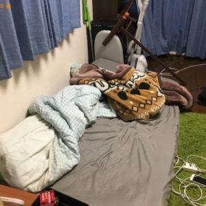 【尼崎市南塚口町】スタンドミラー、シングルベッド、椅子等の回収