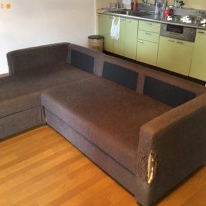 【神戸市灘区】シングルベッドマットレス、ソファーベッドの回収