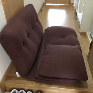【神戸市垂水区】簡易ソファーの回収・処分ご依頼 お客様の声