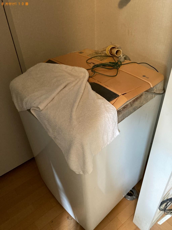 【姫路市】冷蔵庫、洗濯機、シングルベッド等の回収・処分ご依頼