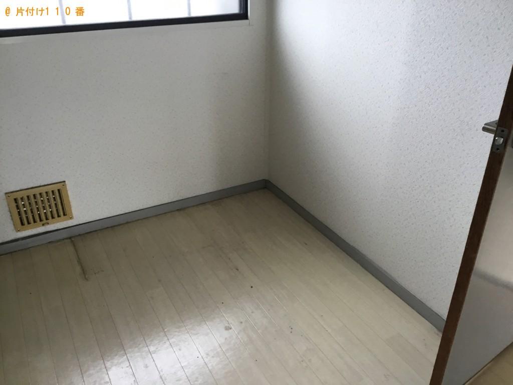 【加古川市尾上町】食器棚、ガラステーブル、カラーボックス等の回収