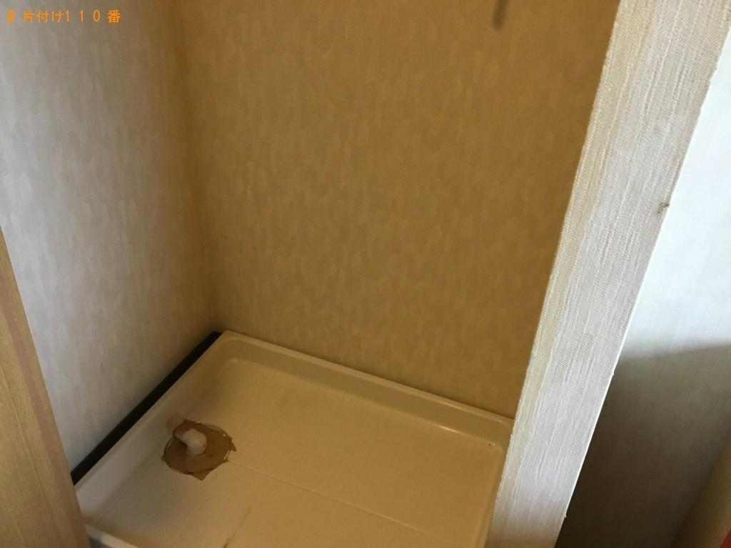 【神戸市灘区】テレビ、折り畳みベッド等の回収・処分ご依頼