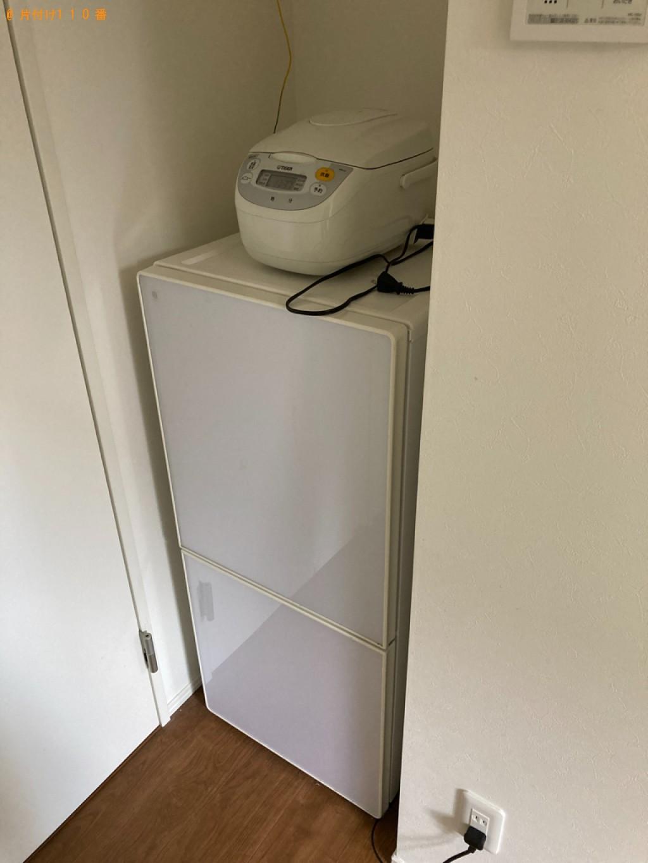 【尼崎市宮内町】冷蔵庫、カラーボックス、椅子、学習机等の回収