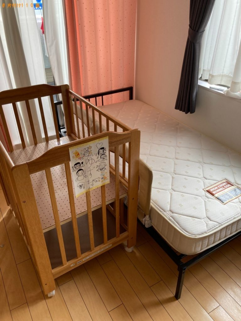 【たつの市】シングルベッド、ベッドマットレス等の回収・処分ご依頼