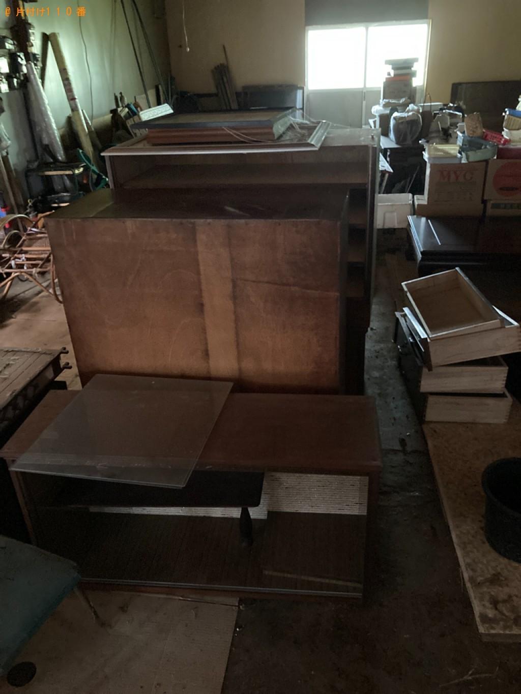 【西脇市】マッサージチェア、タンス、食器棚、ソファー等の回収