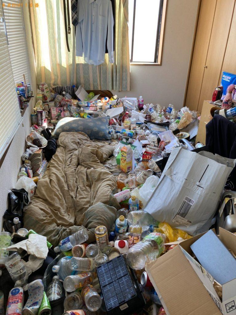 【姫路市広畑区】大量の一般ごみの片付けと回収・処分ご依頼 お客様の声