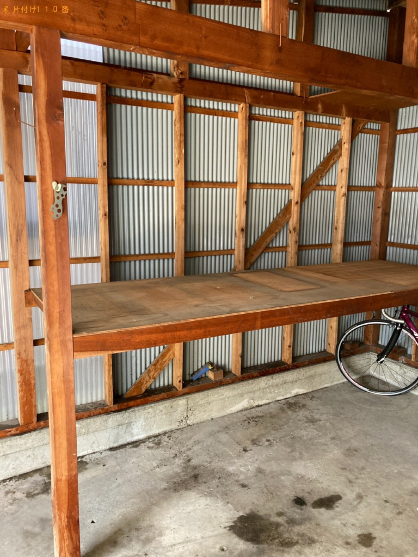 【姫路市】食器棚、シングルベッドマットレス、学習机等の回収・処分 お客様の声