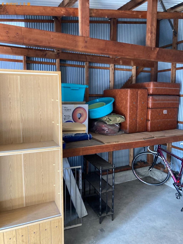 【姫路市】食器棚、シングルベッドマットレス、学習机等の回収・処分