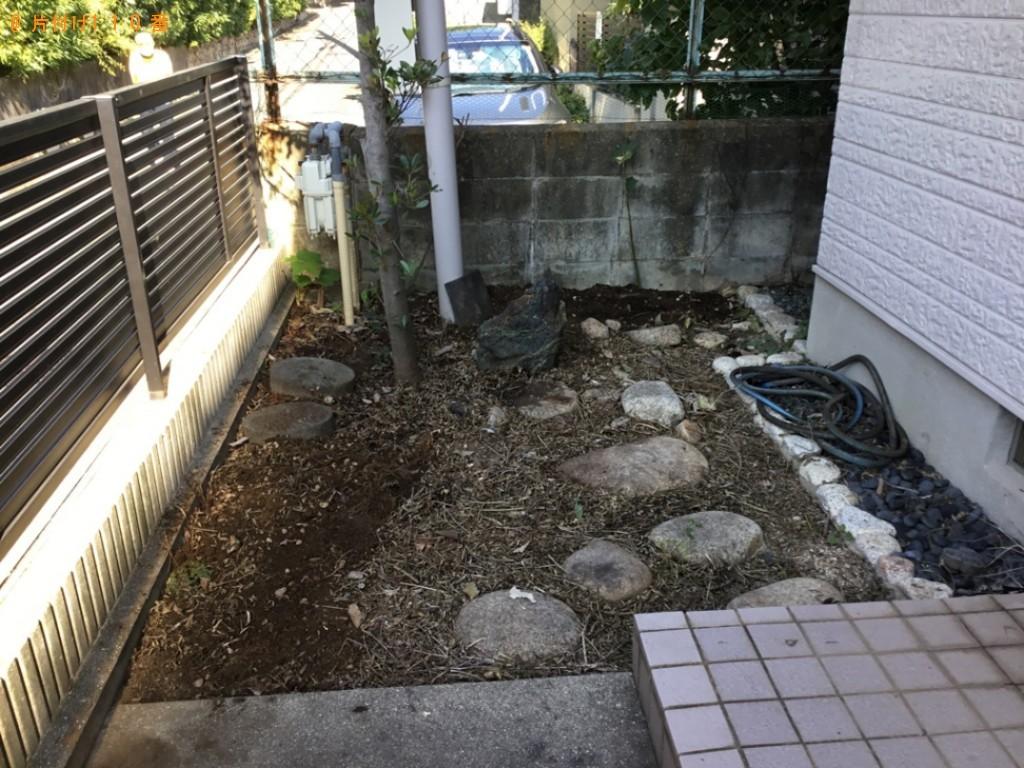 【神戸市東灘区】植木鉢、木の枝、枯れた木等の回収・処分ご依頼