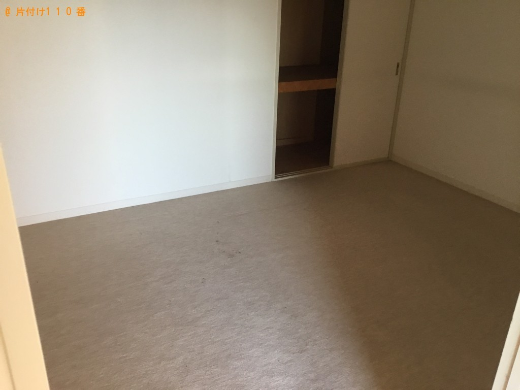 【神戸市東灘区】冷蔵庫、食器棚、カラーボックス等の回収・処分