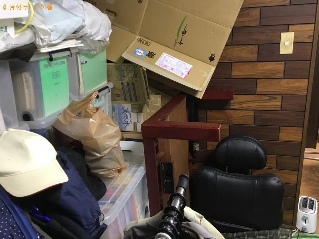 【神戸市垂水区】テレビ、テレビ台、一般ごみ等の回収・処分ご依頼