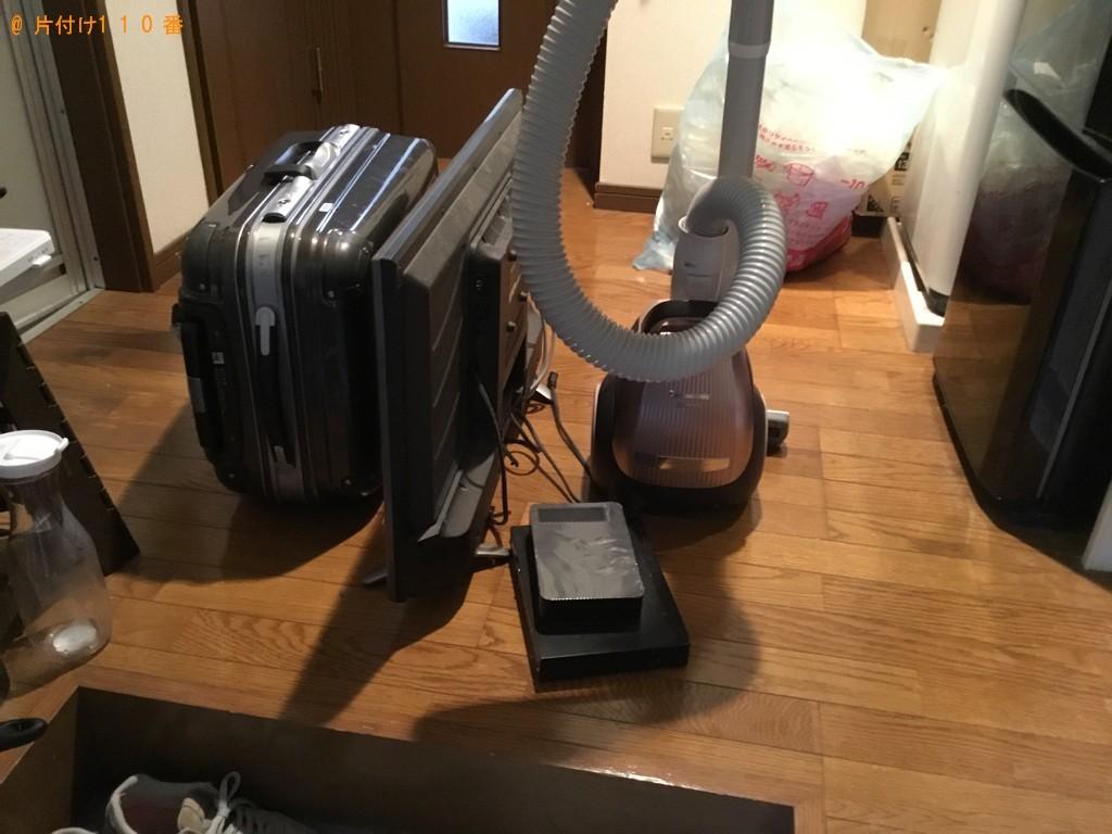 【神戸市兵庫区】テレビ、掃除機、キャリーケースの回収・処分ご依頼