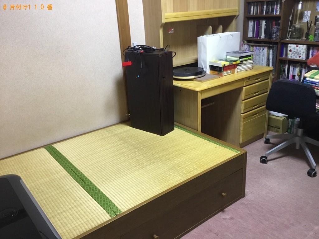【尼崎市】カーペット、タンス、ガラステーブル等の回収と草刈り