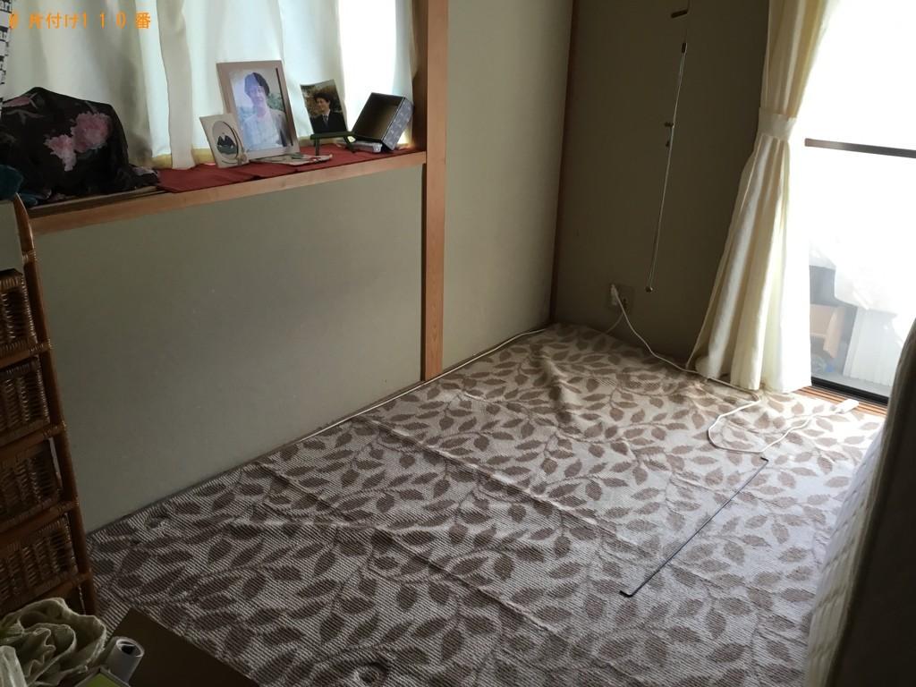 【神戸市中央区】マットレス付きシングルベッドの回収・処分ご依頼