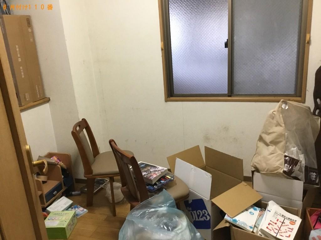 【神戸市北区】ロフトベッド、学習机、椅子、一般ごみ等の回収・処分