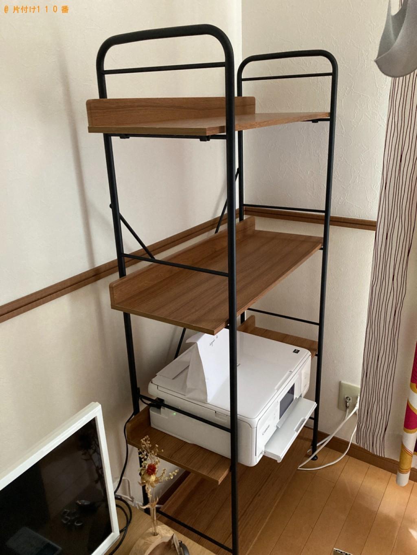 【神戸市西区】学習机、ラック、タンスの回収・処分ご依頼