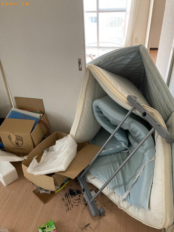【姫路市】椅子、学習机、ガスコンロ、ポールハンガー等の回収・処分