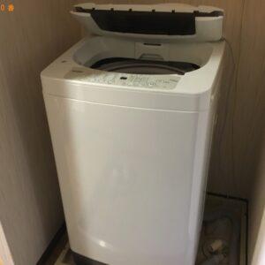 【西宮市青木町】洗濯機の回収・処分ご依頼 お客様の声