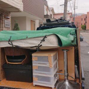 【神戸市灘区】シングルベッド、シングルベッドマットレス等の回収