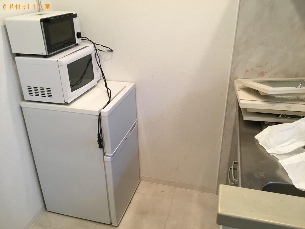 【川西市】冷蔵庫、洗濯機、電子レンジ、ロフトベッド等の回収・処分