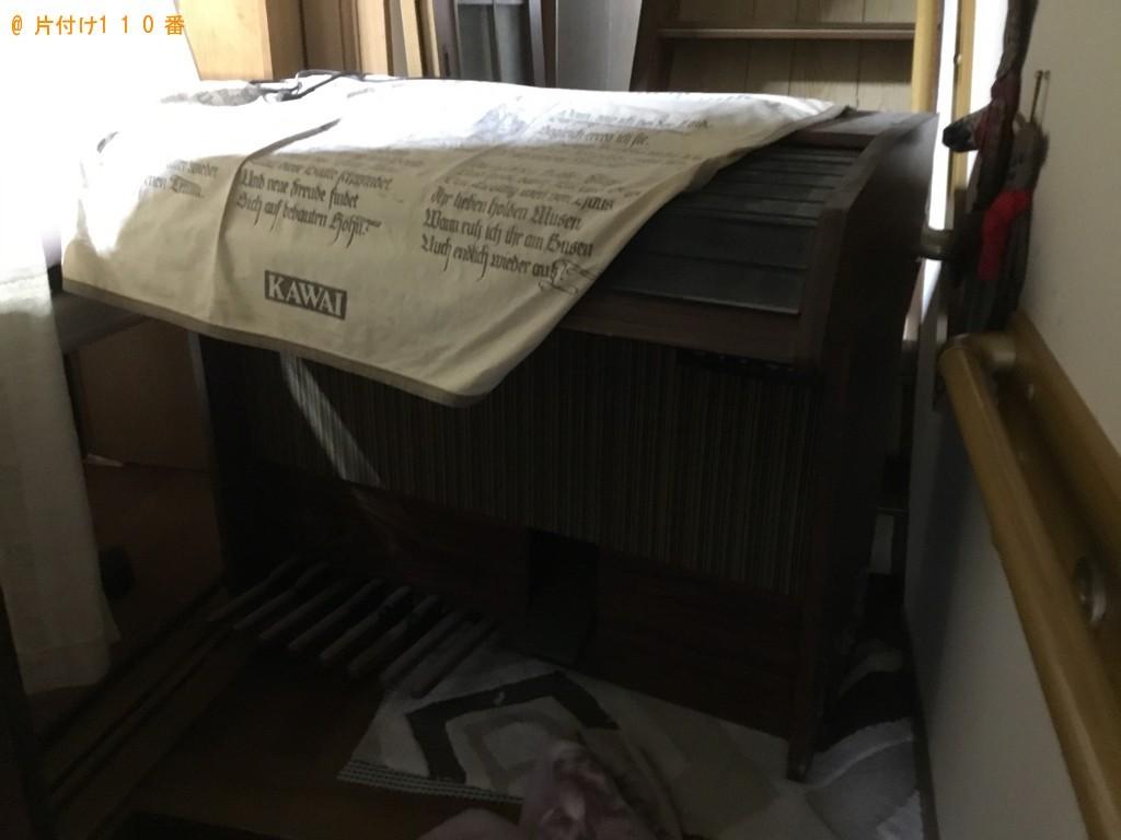 【神戸市兵庫区】椅子、エレクトーンの回収・処分ご依頼 お客様の声