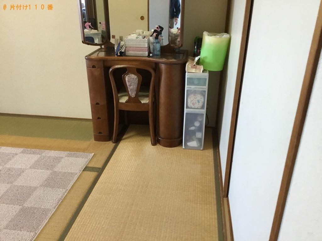 【神戸市東灘区】婚礼ダンス、鏡台の回収・処分ご依頼 お客様の声