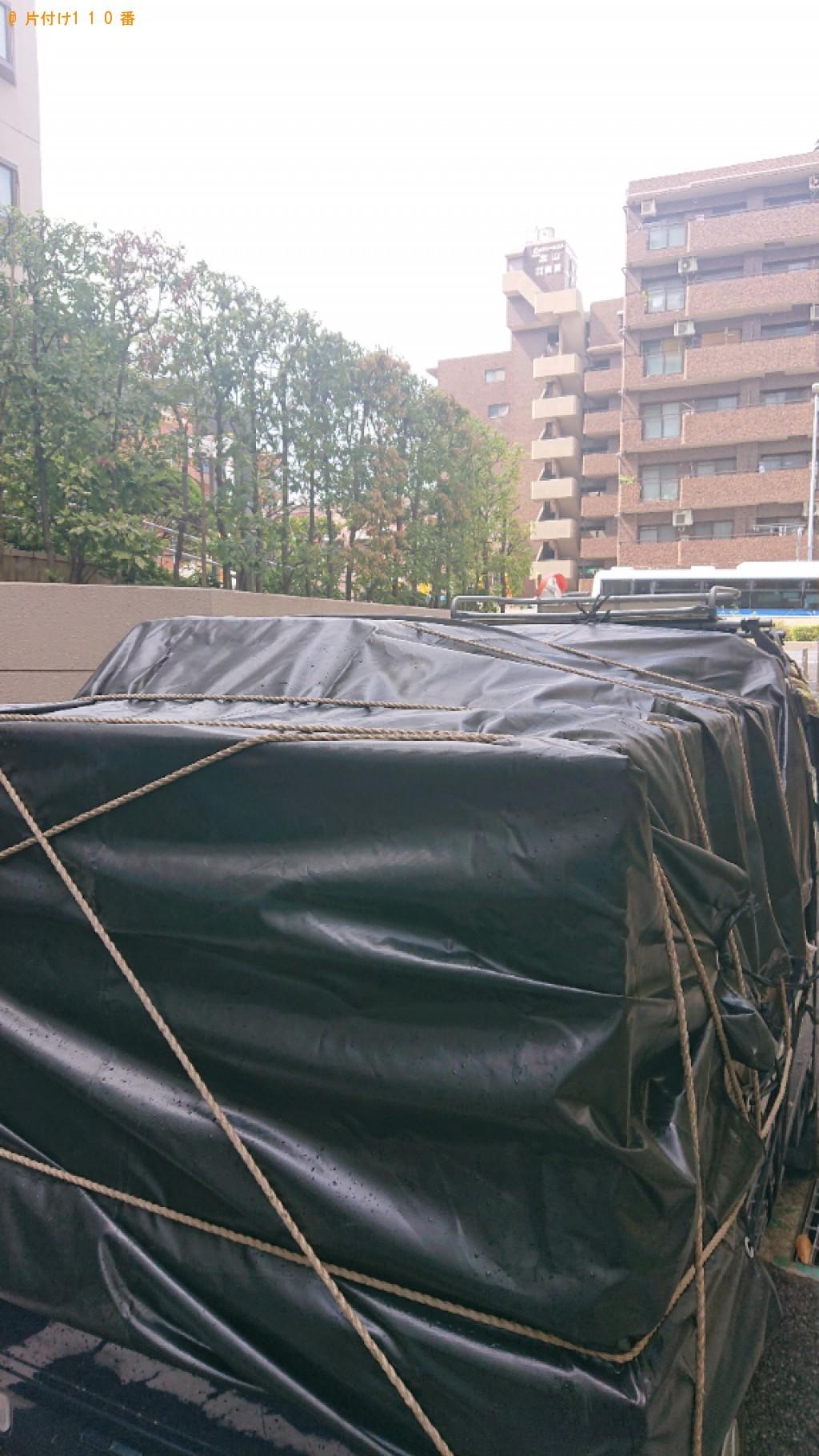 【神戸市東灘区】タンス、食器棚、ソファー等の回収・処分ご依頼