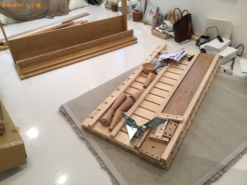 【神戸市中央区】ベッドの組み立てご依頼 お客様の声
