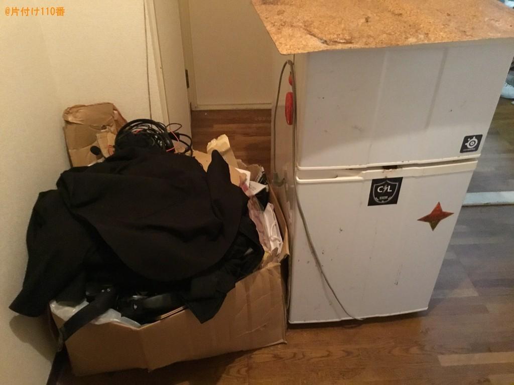 【神戸市】冷蔵庫、洗濯機、マットレス付きシングルベッド等の回収