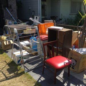 【三田市】椅子、バケツ、ダンボール、ゴミ箱、カゴ、パイプ等の回収