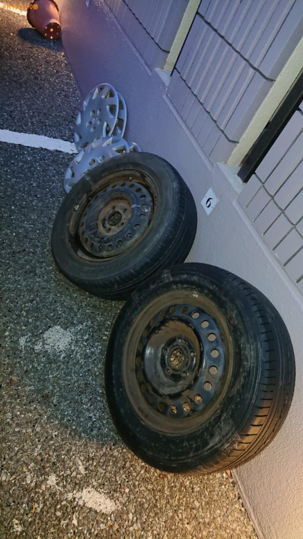 【尼崎市武庫町】自動車タイヤの回収・処分ご依頼 お客様の声