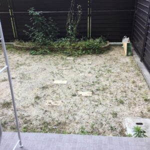 【西宮市甲子園九番町】草刈り作業ご依頼 お客様の声
