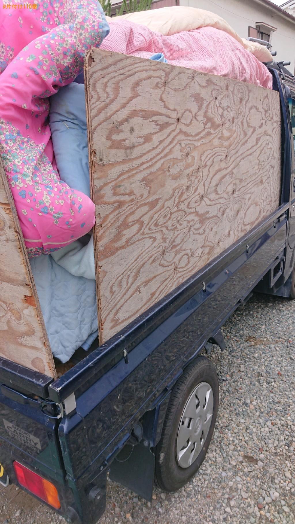 【尼崎市】衣類、ハンガー、かご、衣類収納ケース、布団等の回収