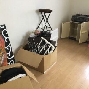 【神戸市長田区】タンス、二人掛けソファー、ガスコンロ等の回収