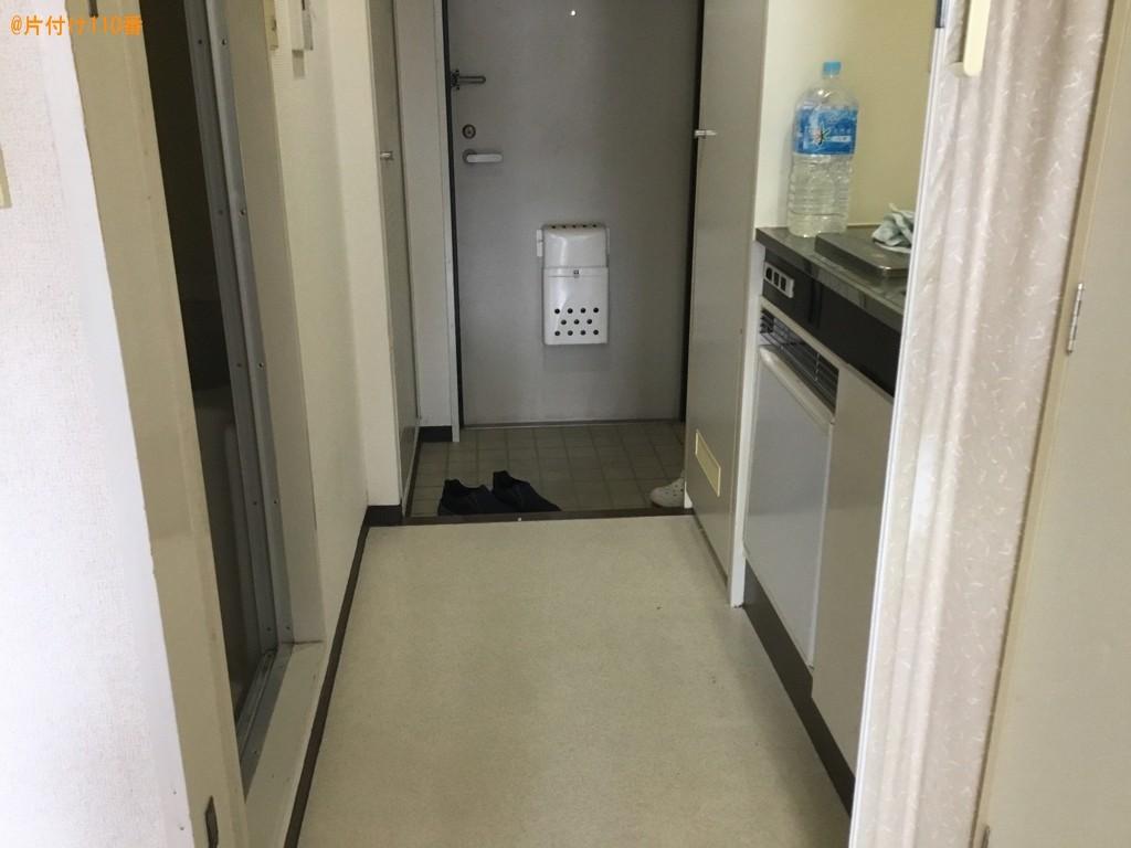 【尼崎市立花町】マットレス付きベッド、衣類収納ケース等の回収